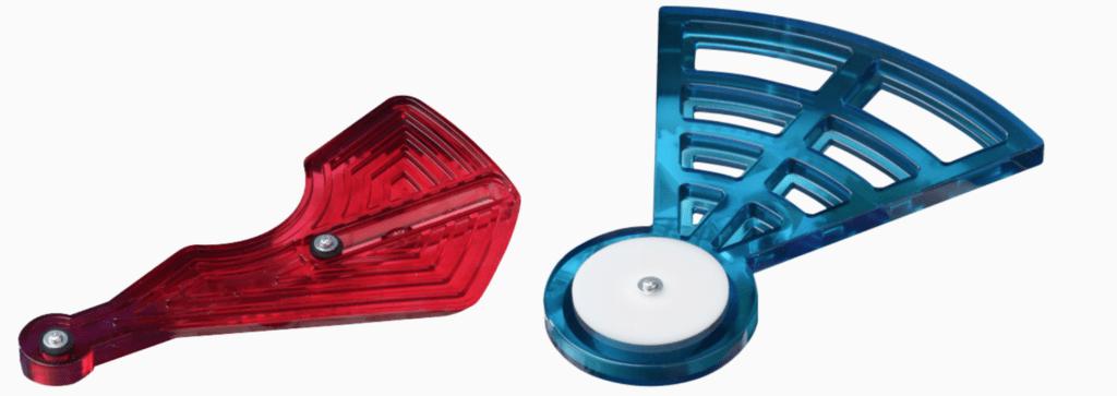 耐熱材質の透明可視化