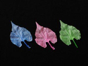 木の葉完成品